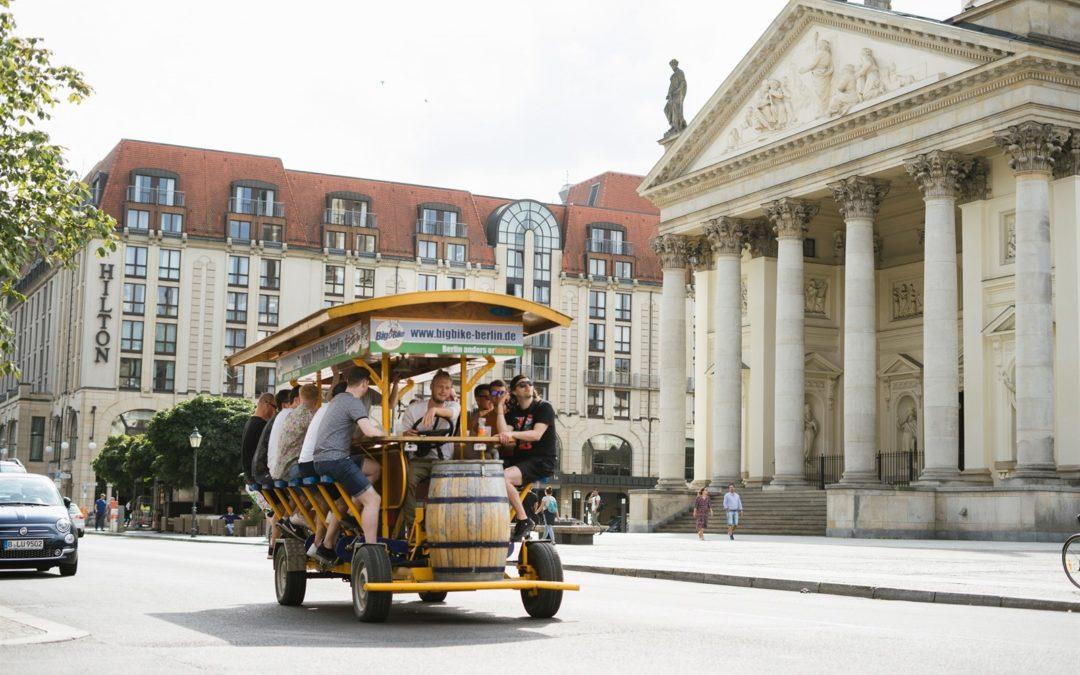 Teambuilding mit BigBike Berlin